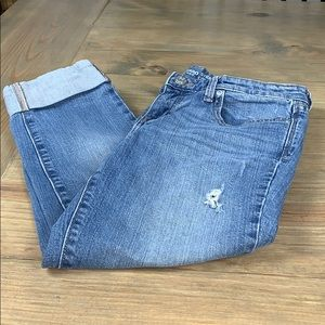 Gap 1969 Straight Crop Jeans